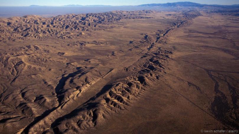 San Andreas fault_CA