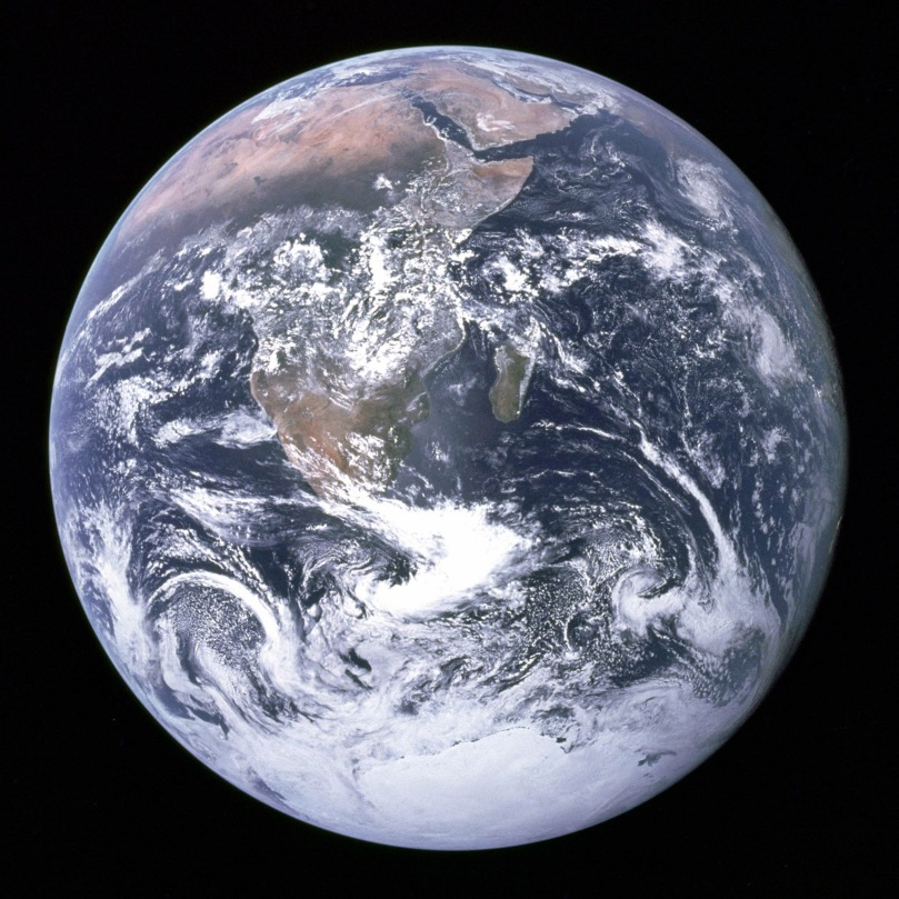 earth south ice cap