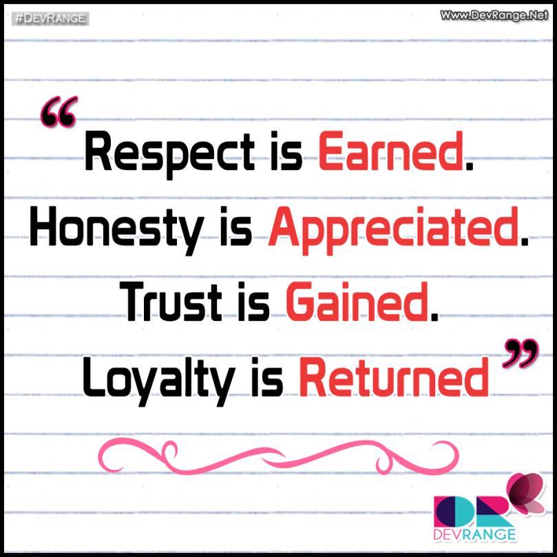 respect-honesty-trust-loyalty
