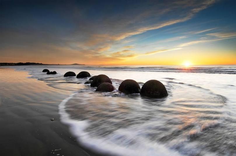 Moeraki boulder-New Zealand